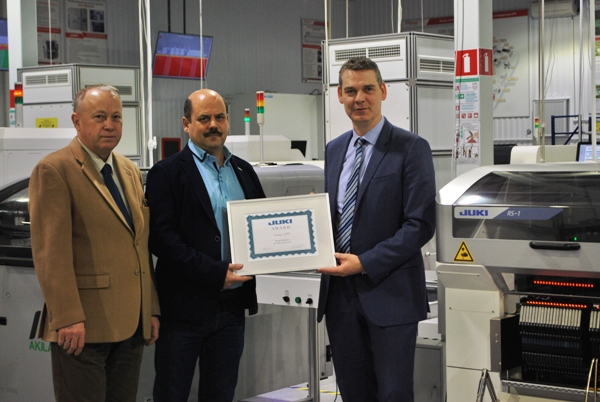 Предприятие «Совтест АТЕ» было признано лучшим дистрибьютором на территории Европы, Западной Азии и Северной Африки