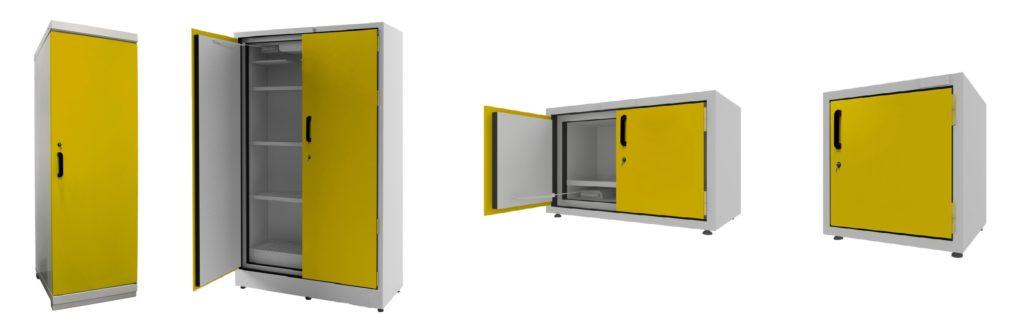 Линейка шкафов для безопасного хранения ЛВЖ