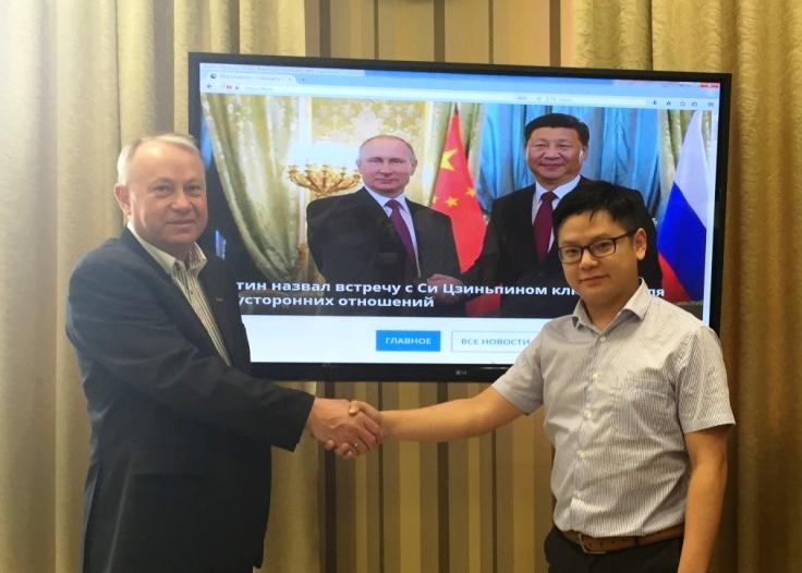 Коллеги из Китая заинтересовались производством
