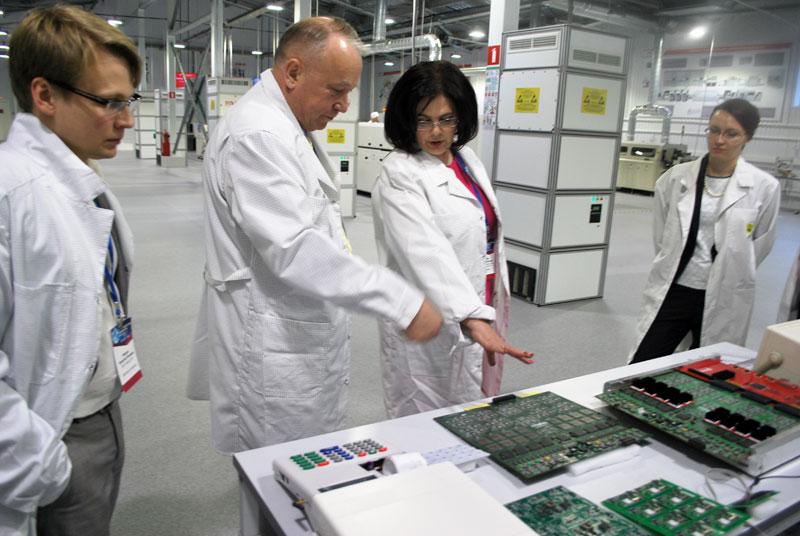 Завод «Совтест АТЕ» посетила Елена Дыбова — вице-президент торгово-промышленной палаты Российской Федерации