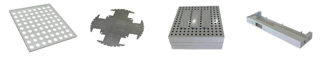 Лазерная резка металла детали изделия Курск